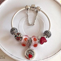 Summer holiday nice jewelry by your side 925 sterling silver charm fashion bracelets