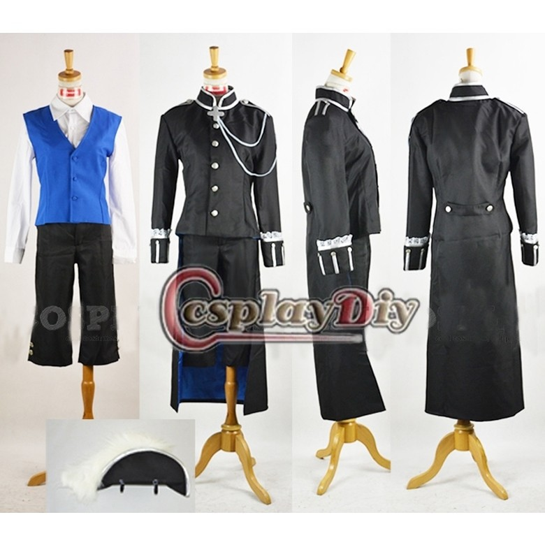 font b Custom b font font b Made b font Men s Costume Black Butler