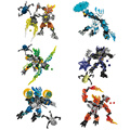 Bionicle Jungle Keepers Building Blocks Toys Boy Toy Baby Early Learning Plastic Blocks for Children Christmas Black Friday Gift