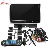 10 zoll Auto DVD Player Aktiven HD Touch Kopfstütze Monitor Game Griff LCD 1024X600 Tragbare Auto DVD Player