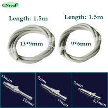 1 pc Dental Silicone Suction Tube Hose (2 types) & Saliva Ejector Valves SE/HVE Tip Adaptor (3