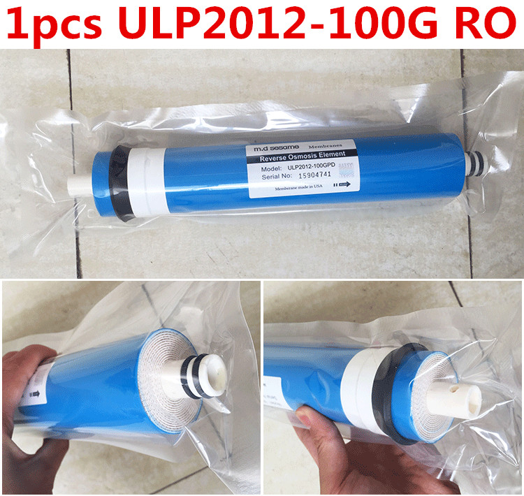 ФОТО 1pcs aquarium filter100 gpd Reverse Osmosis Membrane ULP2012-100G RO Membrane Water Filters Cartridges ro system Filter Membrane
