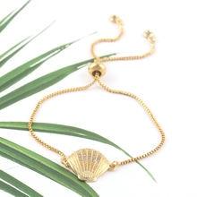 Роскошный женский браслет талисман в виде звеньев под золото
