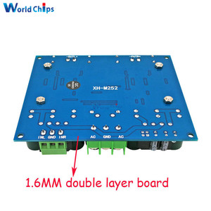 Image 2 - XH M252 AC 24V 2x420W Stereo TDA8954TH Dual Chip Class D Digital Audio HIFI Amplifier Board Module Ultra High Power BTL Mode