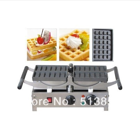 Commercial Use 220v Electric 180 Degree Brussels Style Belgian Waffle Machine Baker brussels 1 11 000