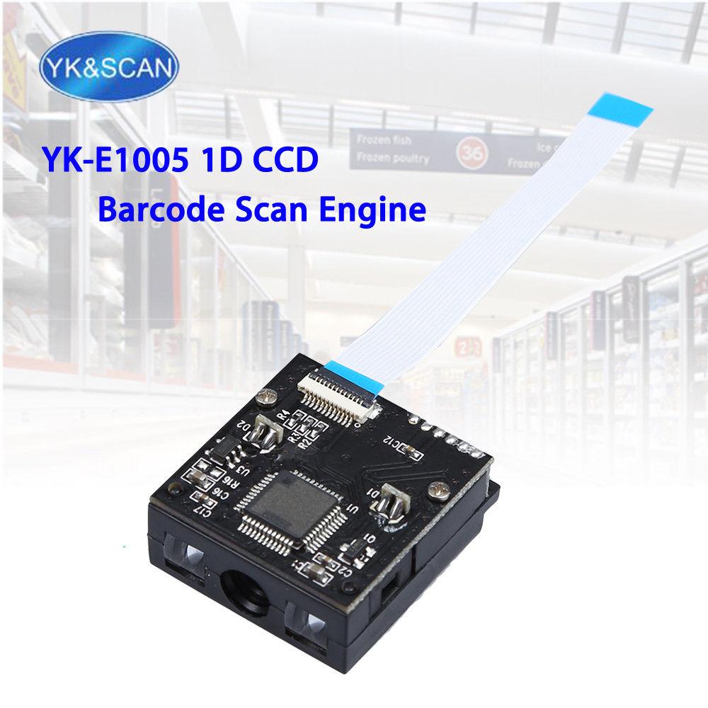 YK & SCAN YK-E1005 1D Scanner Modul CCD Sensor USB/TTL-232 mm Barcode-scanner Bild 1D Embedded-Scan Motor für OEM DIY Scanner