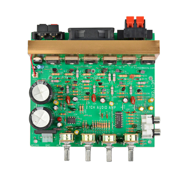 AIYIMA Audio Amplifier Board 2.1 Channel 240W High Power Subwoofer Amplifier Board AMP Dual AC18-24V Home Theater