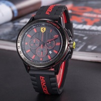 SCUDERIA FERRARI Sport Quartz Watch Luminous for Men Fashion Outdoor Watches Multifunction Calendar Clock 12 Colors 836599723