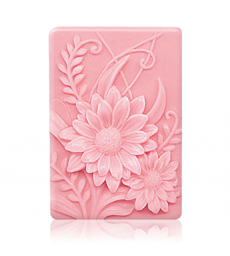 3D Square Flower Silicone Soap Mould Sunflower Soap Molds Homemade Soaps Making DIY Candle Moulds Cake Decoration Supplies