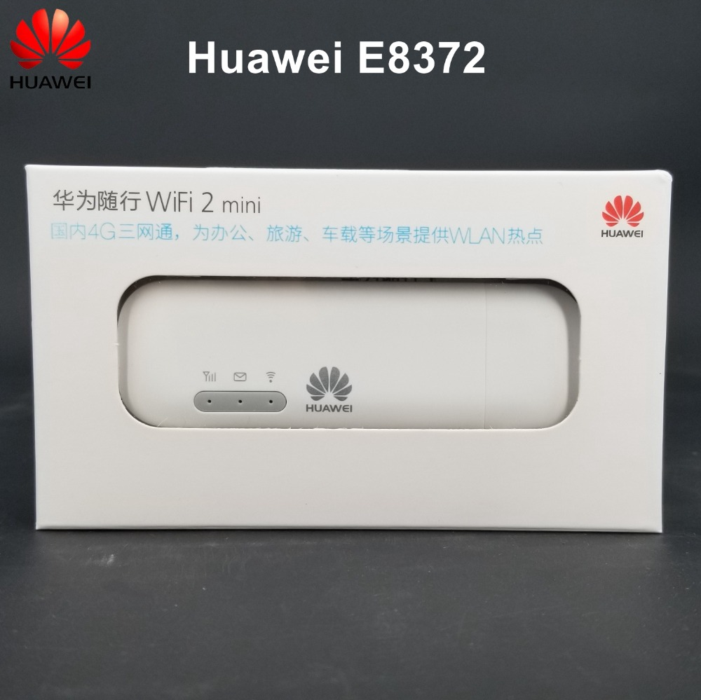Huawei Original Unlocked 4G LTE USB Modem Wingle Car WiFi Stiker E8372
