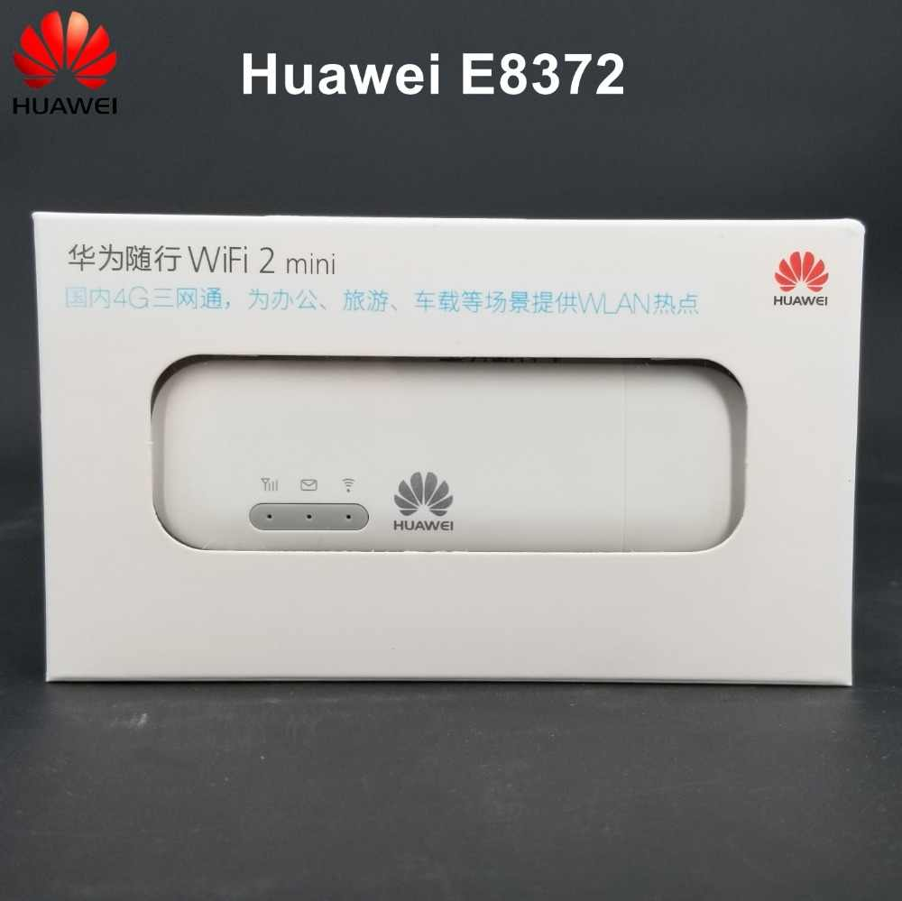Original Unlocked Huawei 4G LTE USB WIFI Modem Wingle Car WiFi Stiker Huawei E8372