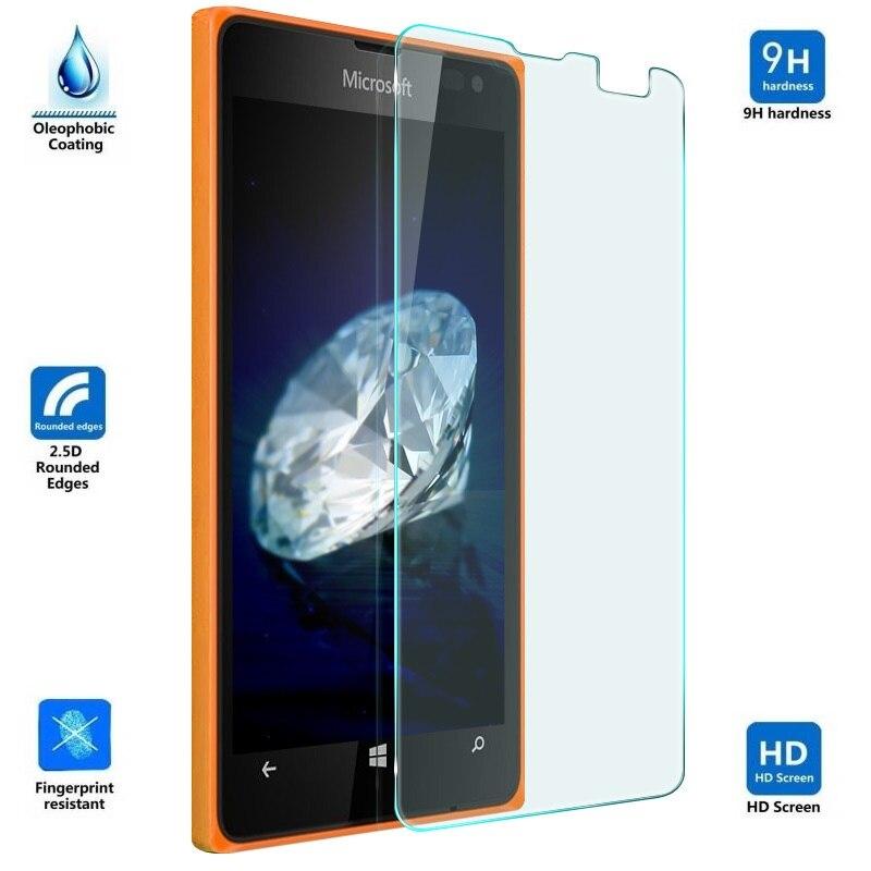 50 PCS 9H 2.5D Tempered Glass Film for Lenovo ZUK Edge Clear YINZHI Screen Protector Film