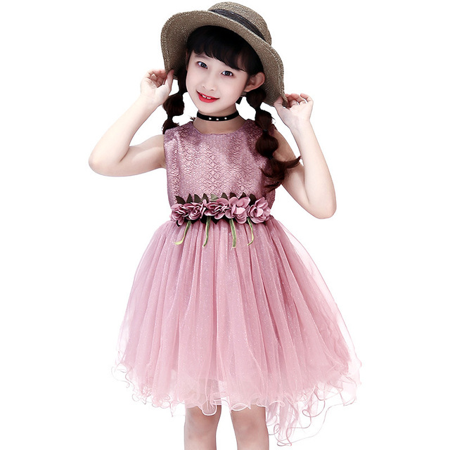 d58f09c15 Girls Dress Princess Party Wedding Ball Gowns for Children ...