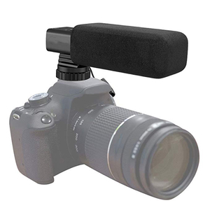 iMice Camera Video Microphone High Sensitivity Interview Microphone Batteries Powered Professional Mic
