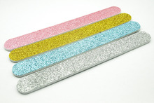 EasyNail 4PCS 100 grit Glitter Nail files,sanding files,nal art tools,factory price,Manicure tools.