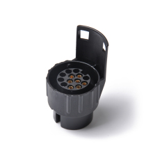 Прочный электрика конвертер 13 Pin трейлер караван штепсельная вилка адаптер к 7 Pin фаркоп розетка