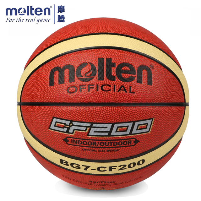 745a1f5db9502 Original 7 BG7-CF200 Tamanho Oficial de Basquete Molten Bola de tênis de  Basquete dos
