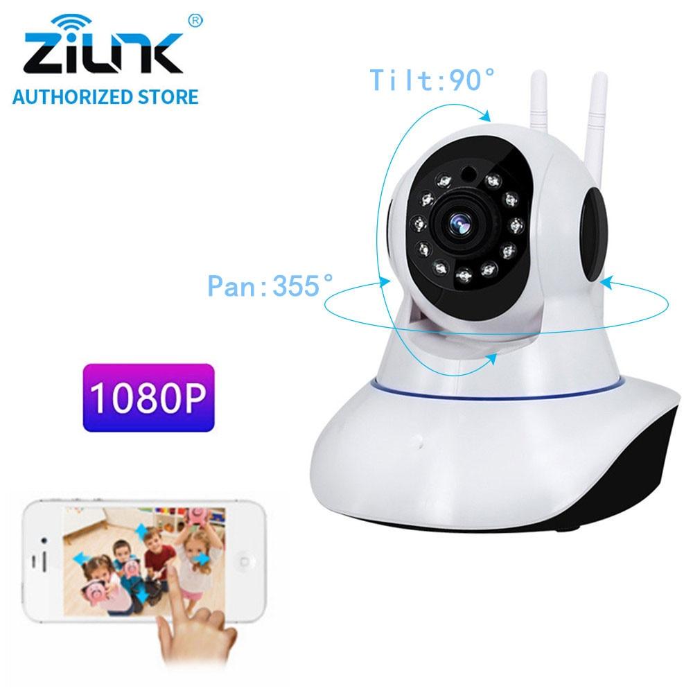 цена на 1080P HD Wifi IP Camera Security Wireless Home 2MP CCTV Camera Support TF Card Two Way Audio Baby Alarm IR Night Vision Monitor