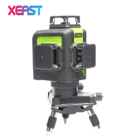 XEAST XE 903 12 Line Laser Level 360 Self Leveling Cross Line 3D Laser Level Green