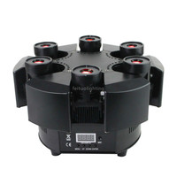 New Product Led Beam Moving Head Light 6 Heads RGB Color Floral Smart Laser Beam Moving Head Beam Laser Dj Disco Stage Lighting