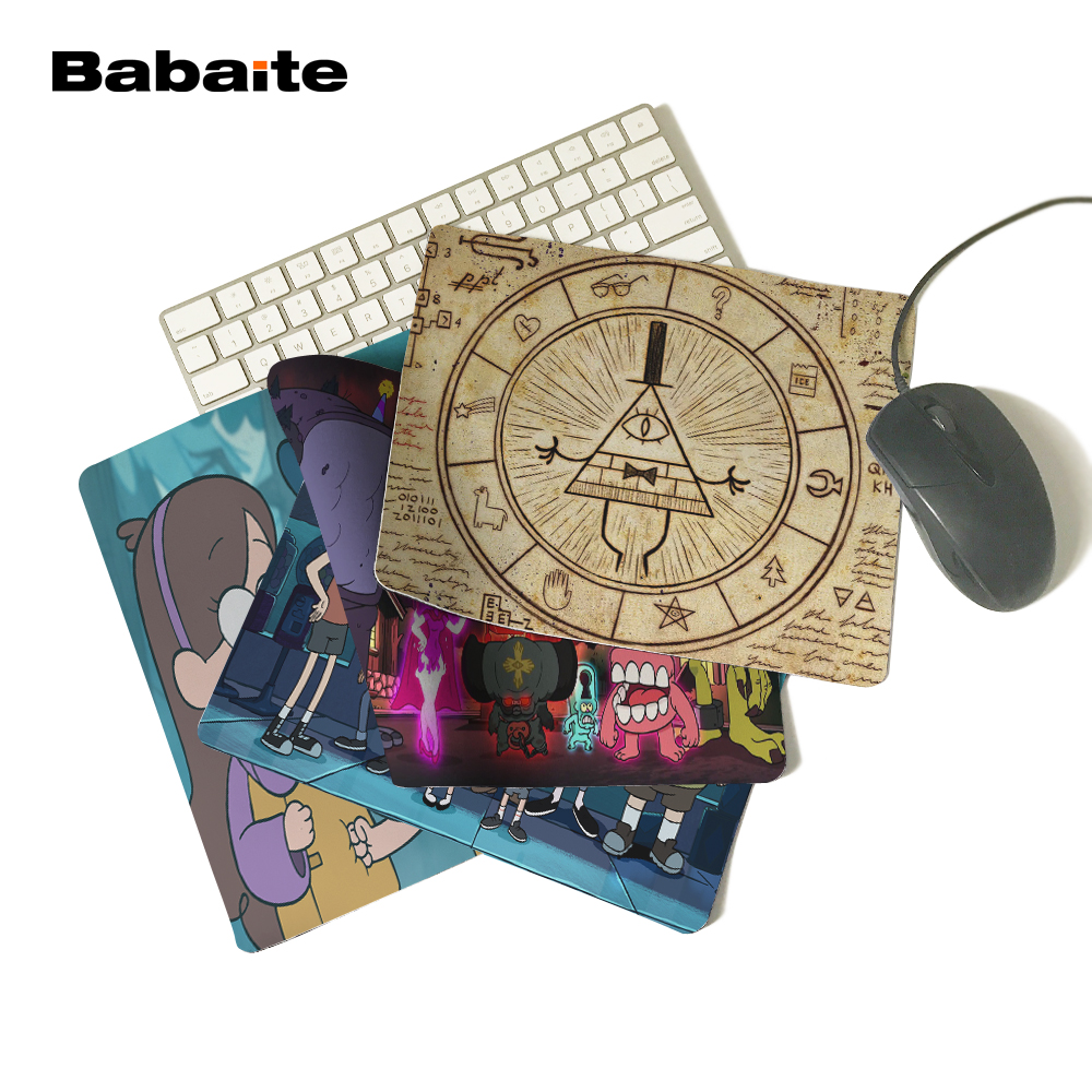 Babaite 2017 Hot Sale Musemåtte Gravity Falls, case musemåtte Gaming Mat 180 * 220 * 2mm eller 250 * 290 * 2mm