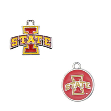 Buy college pendants and get free shipping on aliexpress enamel iowa state college sport pendant charms for diy mozeypictures Image collections