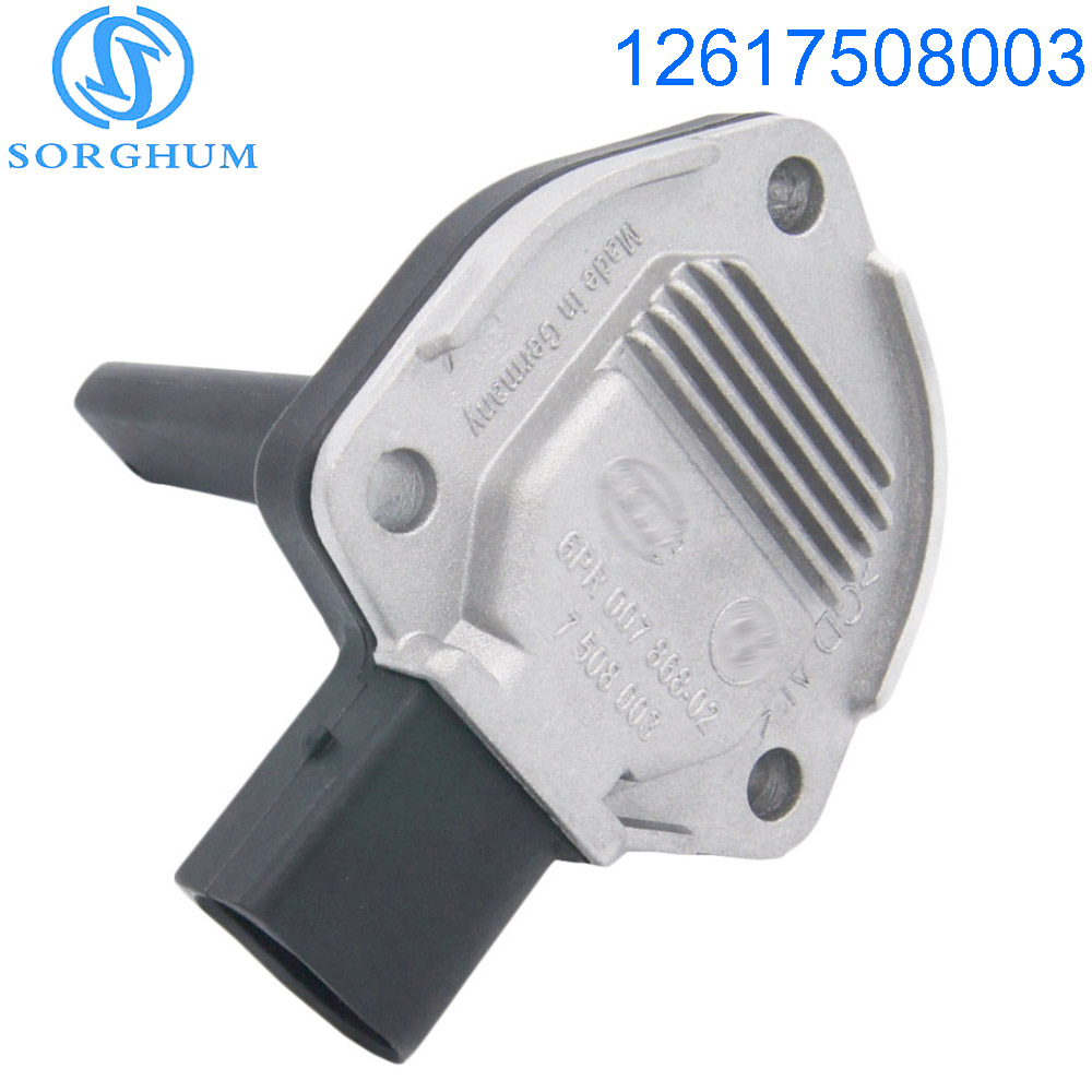 New Oil Level Engine Sensor 12617508003 7508003 For BMW X3 X5 E46 M3 325Ci 330i 330Ci M5 X5 E39 E90(China)