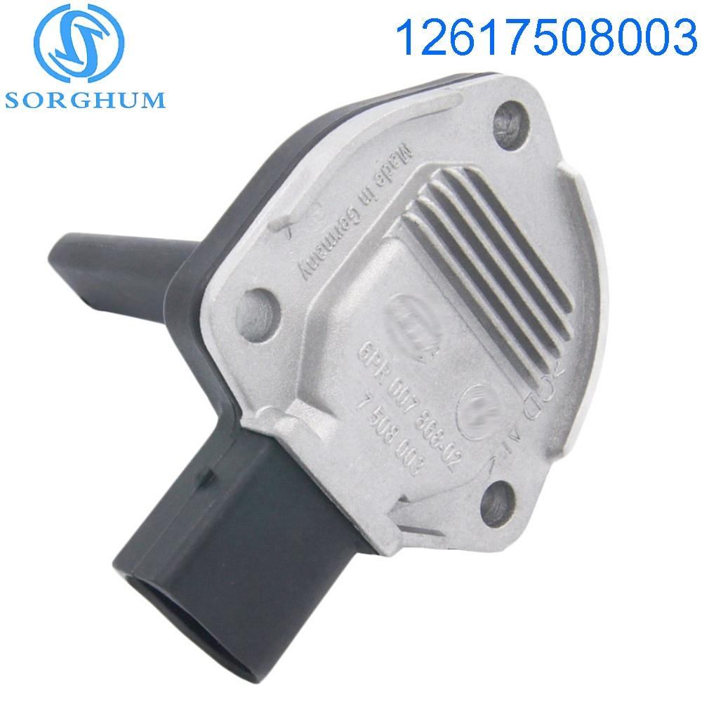 Novo Sensor de Nível De Óleo do Motor 12617508003 7508003 Para BMW X3 X5 M3 325Ci 330i M5 X5 E39 E90