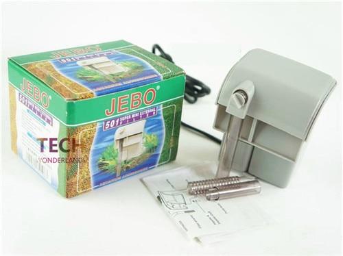Jebo 501/502/503/505 acquario filtro cascata vasca per i pesci attaccatura di parete esterna filtro spedizione gratuita