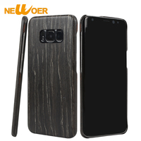 Newoer For Samsung Galaxy S8 Plus Case Luxury Natural Wood Phone Case For Samsung S8 Plus