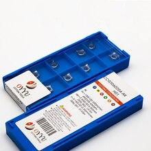 цена на OYYU CCGT Carbide Inserts Cutting Tool CCGT060204 CCGT09T308 02 04 AK H01 lathe Turning Tool Aluminum Insert CNC Processing