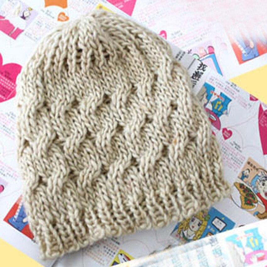 Bonjean зимняя шапка для Для женщин Плетеный Багги шапочка Берет крючком вязаная шапка теплые женские Кепки