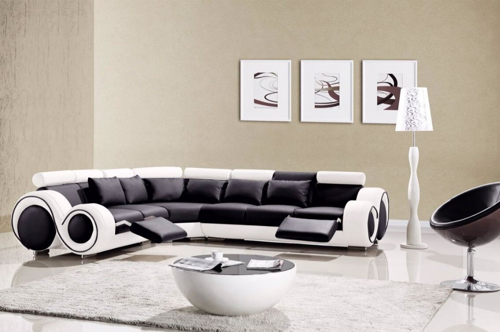 Modern Living Room Funiture Simple Leather Sofa Set In Sofas From Furniture On Aliexpress Alibaba Group