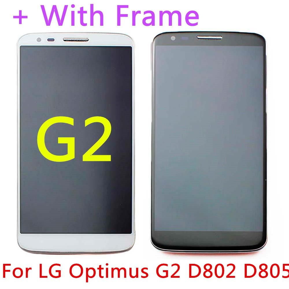 Black White font b LCD b font font b Display b font Touch Screen With Frame