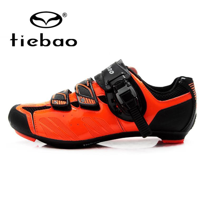 Tiebao Cycling Shoes Men Road Bicycle Cycling Shoes Breathable Bike Self-Locking Shoes Zapatillas Zapato Ciclismo sidebike mens road cycling shoes breathable road bicycle bike shoes black green 4 color self locking zapatillas ciclismo 2016