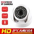 Boavision cmos 720 p 1080 p cámara domo ip de audio wifi ir opcional 20 M Visión Nocturna 3.6mm Lente 2MP 1.0MP P2P Cámara de Seguridad CCTV