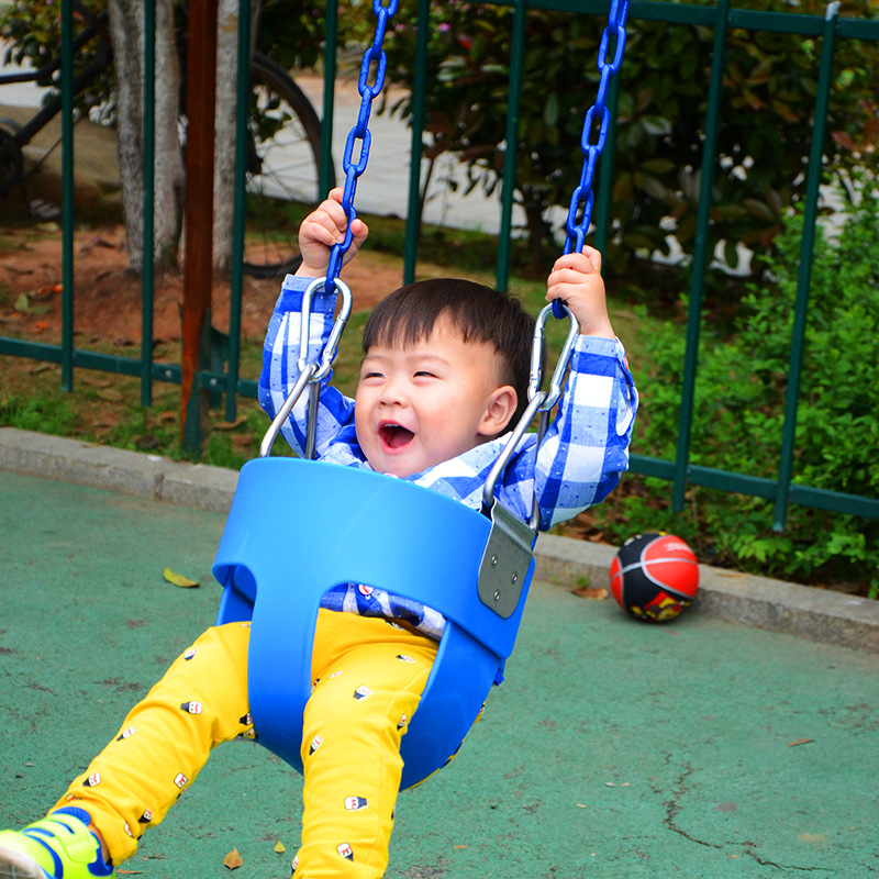 Outdoor EVA Plastic Hanging Basket Baby Swing Seat Safety Kids Child Outdoor Garden Park Play Swing