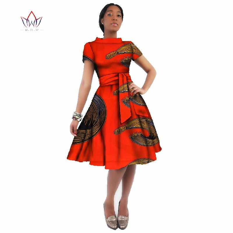 f1fcacbdb WholeSale Africa Dress For Women African Wax Print Dresses Dashiki Plus  Size Africa Style Clothing for