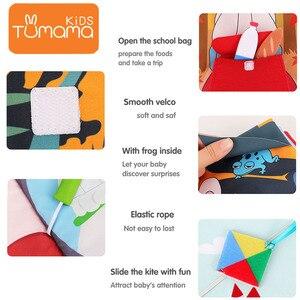 Image 3 - Tumama Libro di Panno 3D Può Essere Lavabile Panno Libro Per Bambini Libro Del Bambino Precoce Giocattoli Educativi Safty Resistente A Strappare libri Per Il Bambino