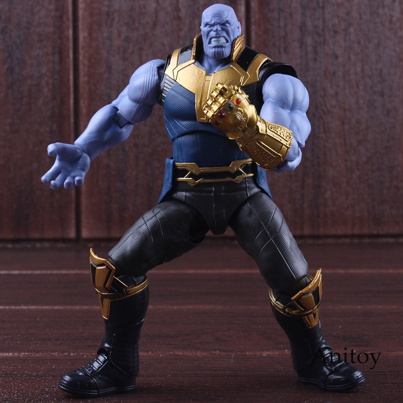 SHF Figuarts Avengers Infinity War Marvel Thanos Action Figure Toy PVC Collectible Model Toys for BoysSHF Figuarts Avengers Infinity War Marvel Thanos Action Figure Toy PVC Collectible Model Toys for Boys