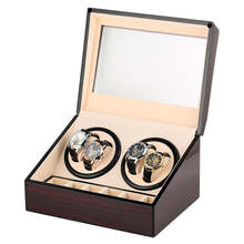 С автоматическим заводом часов часы в коробке намотки чехол