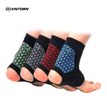 XINTOWN a pair Sports colour ankle support elastic and outdoor sports protector for basketball running and ankle protection(China)