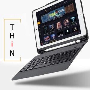 Чехол для iPad Pro 10,5 чехол A1701 A1709 ультра тонкий беспроводной Bluetooth клавиатура чехол для iPad Air 3 10,5 дюймов планшеты