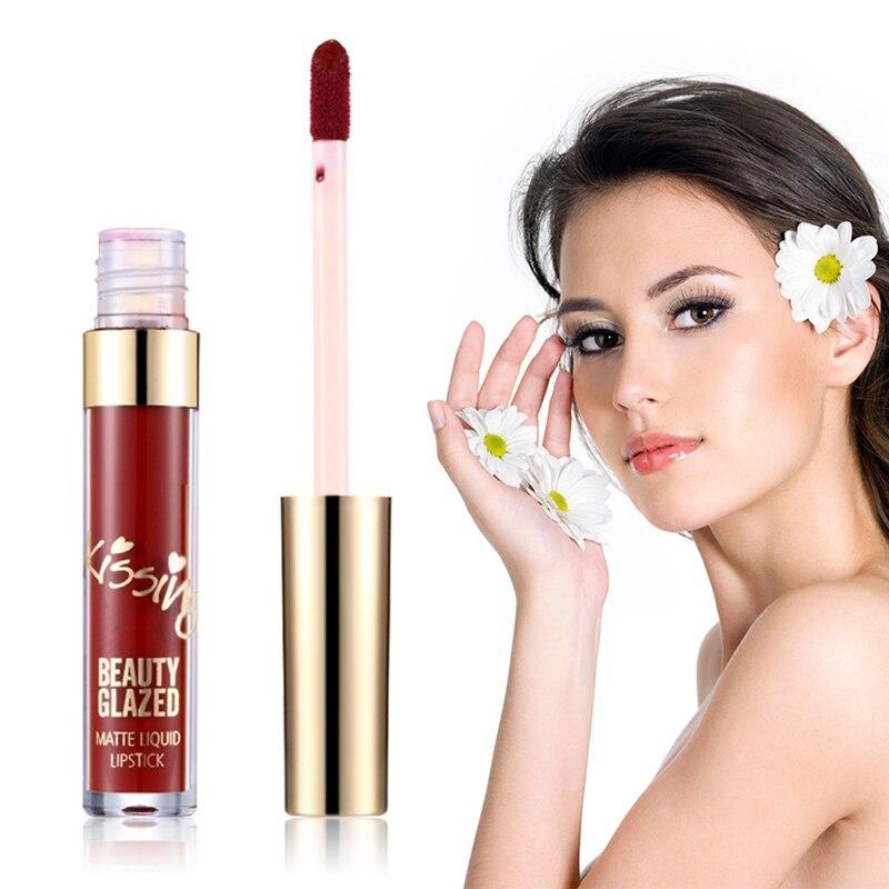 dwaterproof água líquido nude gloss labial maquillaje presentes para mulher tslm1