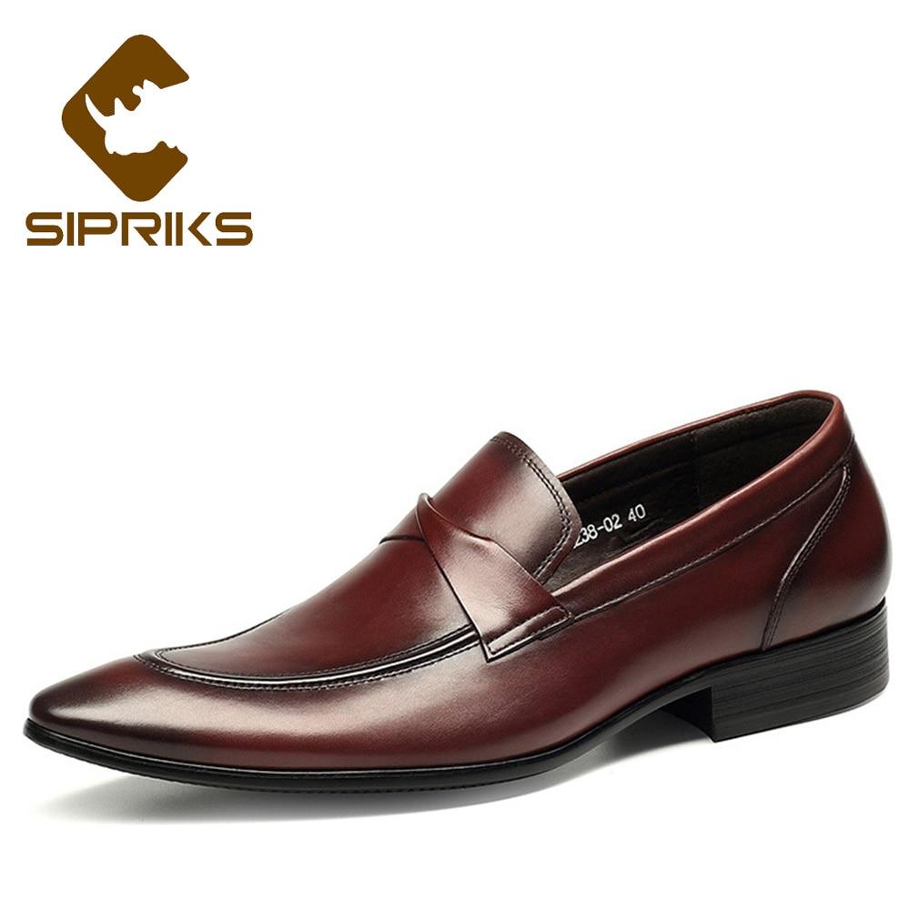 a0b382890da Sipriks-Derni-res-Designer-Hommes-En-Cuir-Chaussures-Hommes -Bourgogne-En-Cuir-Mocassins-Slip-On-Chaussures.jpg