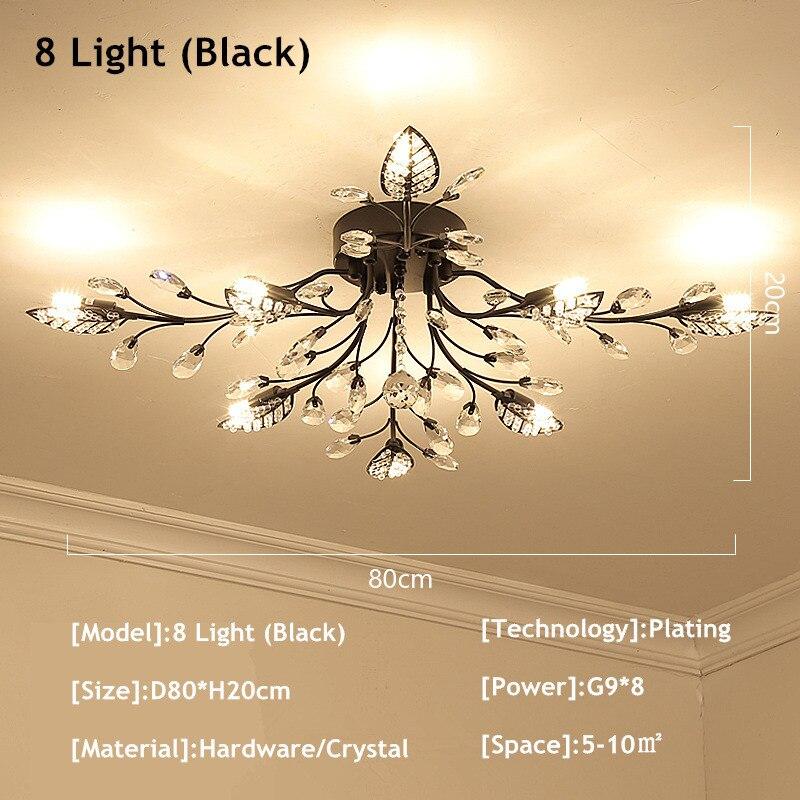 8 light black