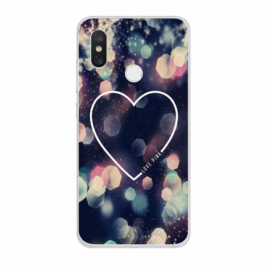 ciciber Pink Love for Xiaomi MI 9 8 A2 A1 6 5 X C S Plus Lite SE Soft TPU Phone Cases for MIX MAX 3 2 1 S Pro PocoPhone F1 Capa