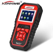 Konnwei kw850 obd2 obd 2 자동차 스캐너 최고의 자동차 진단 도구 자동 다국어 자동차 수리 도구보다 al519