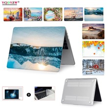 Multiple pictures Laptop Case for apple Macbook Air Pro Retina 11 12 13 15,Cover for MAC New Air 13 Pro 13 15 inch Touch Bar ID цена и фото