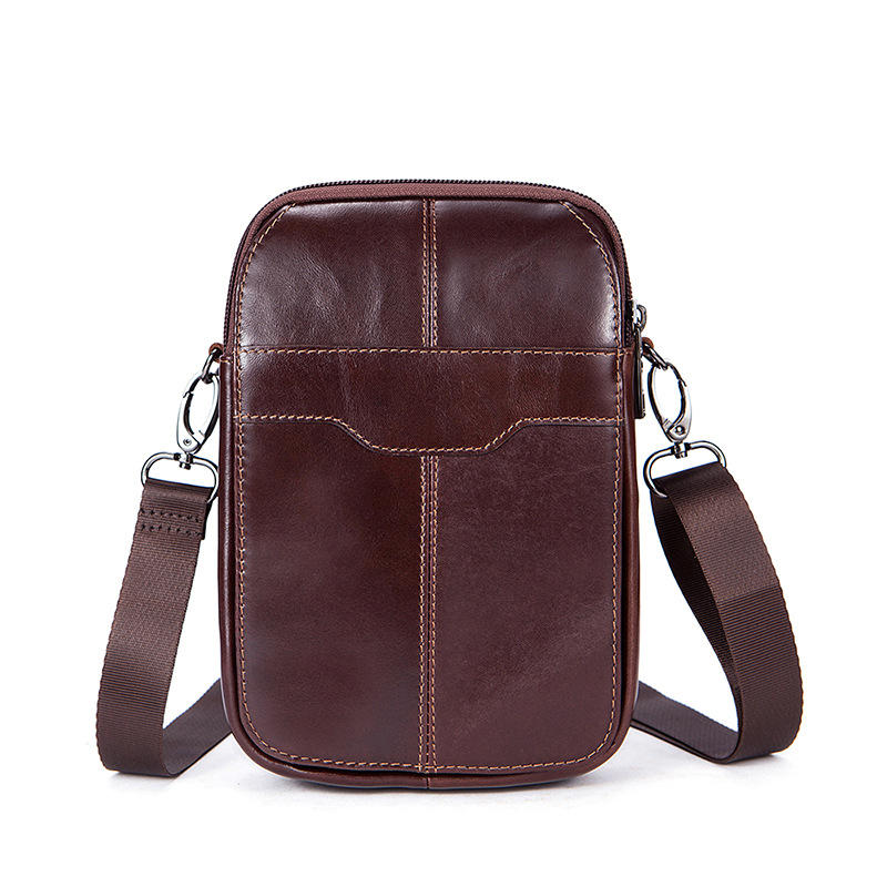 Genuine Leather shoulder bags Men MINI Messenger a Bag Casual Natural cowhide Crossbody Bag handbag for Man Fashion Travel Bag women handbag shoulder bag messenger bag casual colorful canvas crossbody bags for girl student waterproof nylon laptop tote